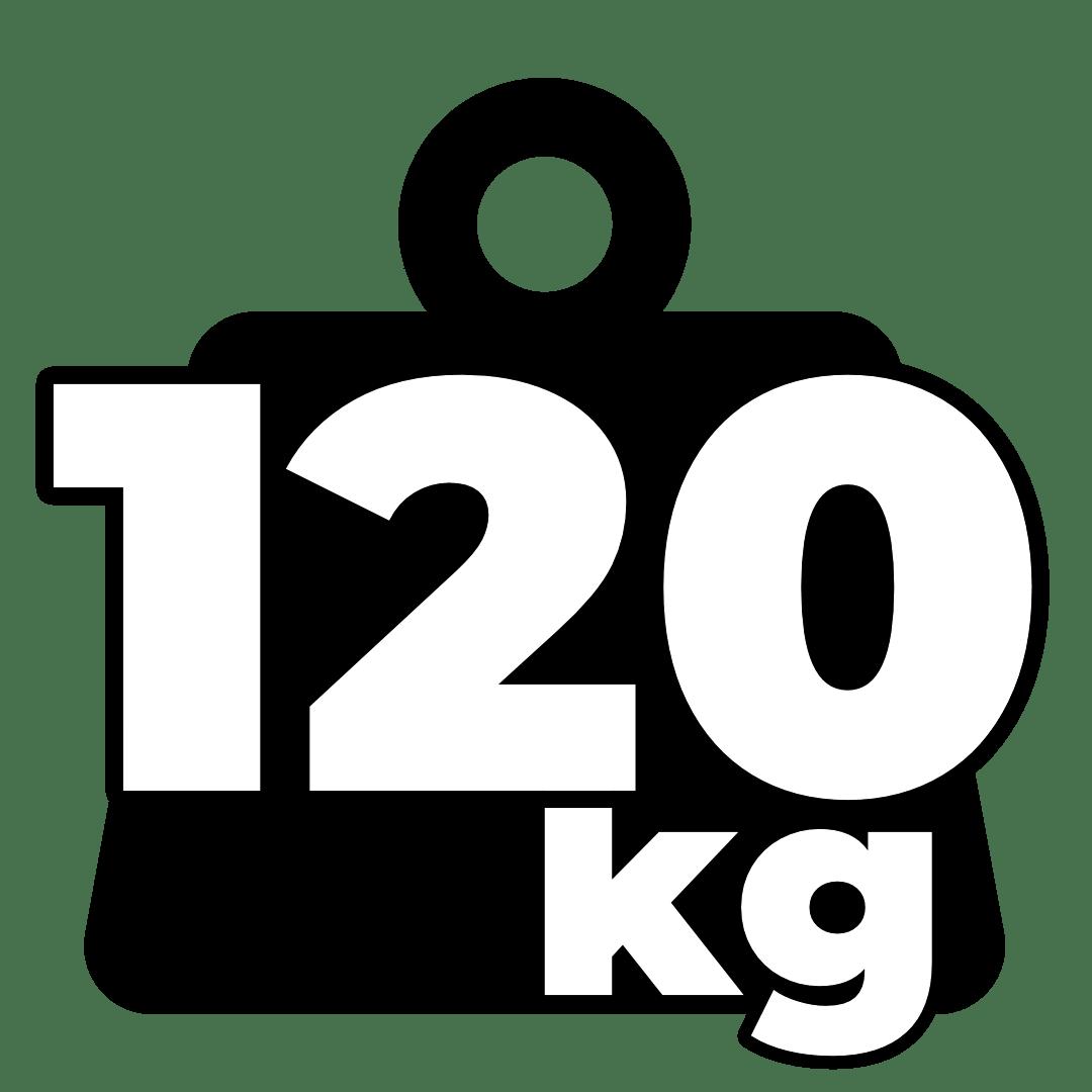 Weight – 120kg