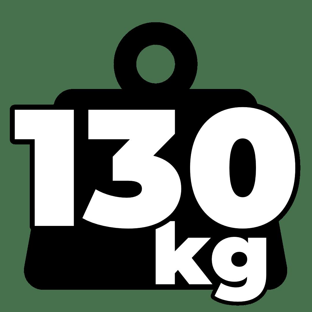 Weight – 130kg