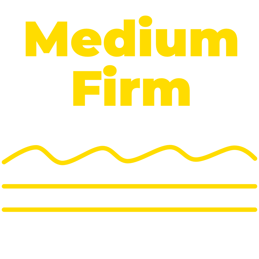 Comfort Level – Medium Firm