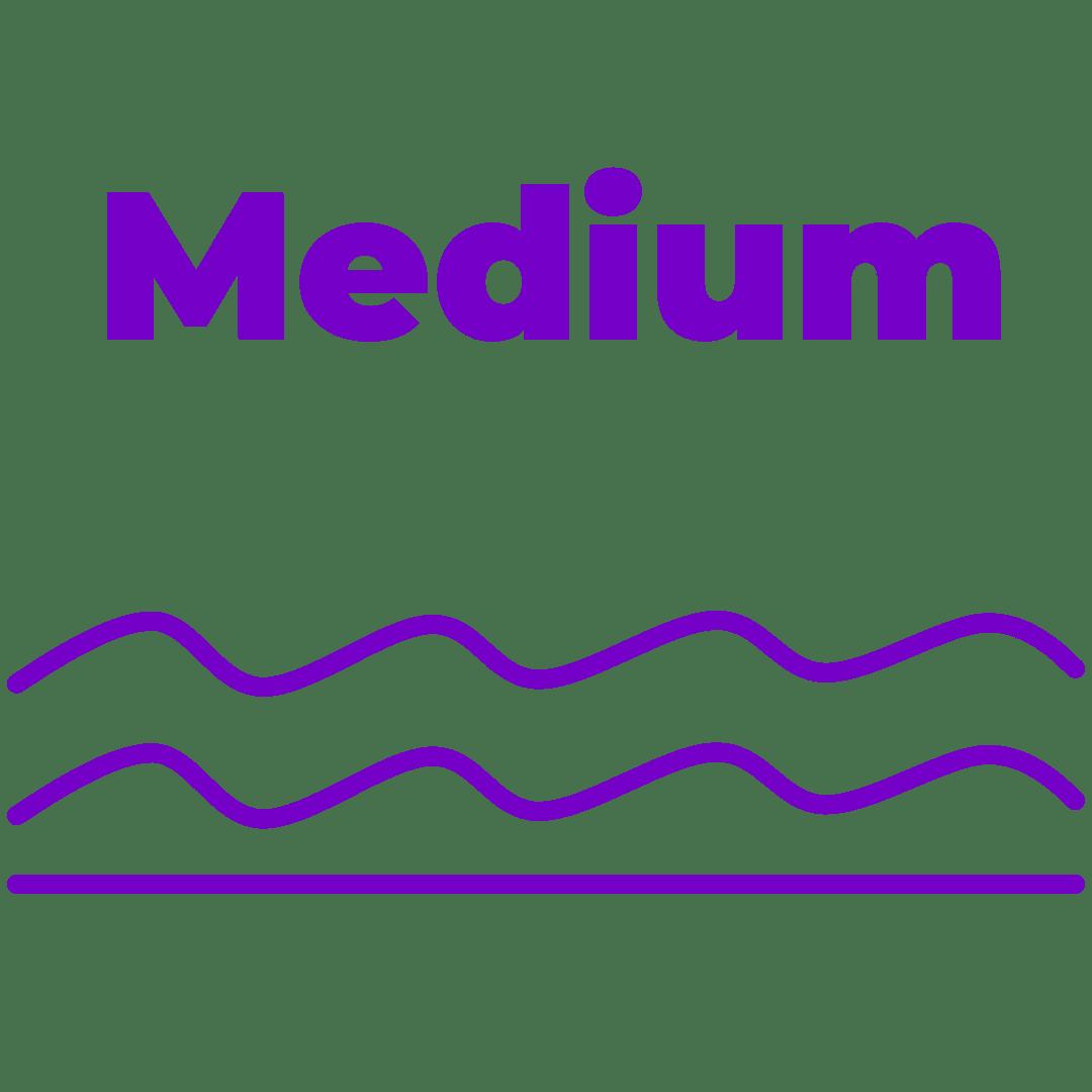 Comfort Level – Medium